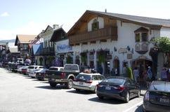 Leavenworth tyskstad royaltyfria foton