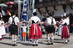 Leavenworth, un pueblo de Bavarien en el estado de Washington Fotos de archivo