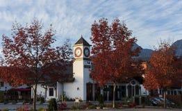 Leavenworth w jesieni Obraz Stock