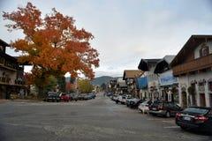 Leavenworth. WA in fall Royalty Free Stock Image