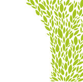 Leaves. Floral design element; ; easy to change color Royalty Free Stock Image