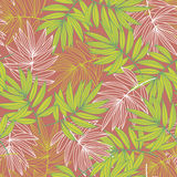 Leaves. The colors of autumn leaves game royalty free illustration