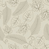 leaves royaltyfri illustrationer