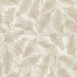 Leaves. Seamless pattern from   leaves(can be repeated and scaled in any size Stock Image