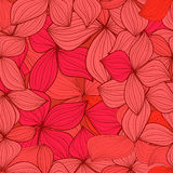 Leaves abstract seamless background Royalty Free Stock Image
