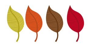 Leaves autumn Stock Photos