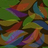 Leaves background pattern Royalty Free Stock Photos