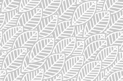 Leaves background pattern - vector illustration Royalty Free Stock Photography