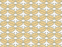 Leaves berry pattern background Stock Images