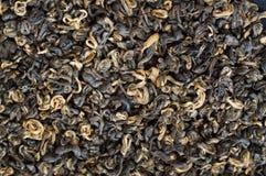 Leaves of  black tea Stock Photo