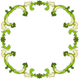 Leaves Border Frame Royalty Free Stock Photography