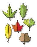 Leaves cartoon Royalty Free Stock Photo
