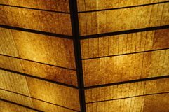 Leaves Ceiling design detail Royalty Free Stock Images