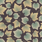 Leaves collect-03 stock illustration