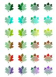 Leaves concept - cdr format Stock Image