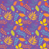 Leaves Floral Seamless Texture Royalty Free Stock Image