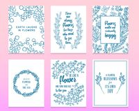 Leaves of flowers. Vector set. Cute Floral collection, hand drawn watercolor. Wedding or greeting cards. Romantic design royalty free illustration