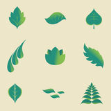 Leaves icon Stock Images
