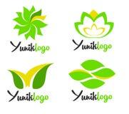 Leaves Logo vector illustration