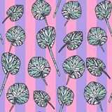 leaves mönsan seamless stock illustrationer
