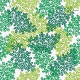 leaves mönsan seamless Arkivbild