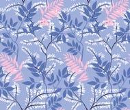 leaves m?nsan seamless royaltyfri illustrationer