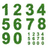 Leaves number collection Stock Photography