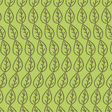 Leaves organic icon Royalty Free Stock Photography