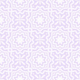Leaves ornament seamless vector pattern (pastel violet) Royalty Free Stock Photos
