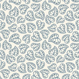Leaves pattern Royalty Free Stock Image