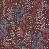 Leaves pattern Stock Photos