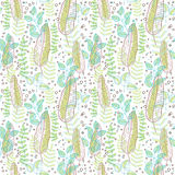 Leaves pattern Royalty Free Stock Photo