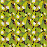 Leaves pattern background Stock Photography