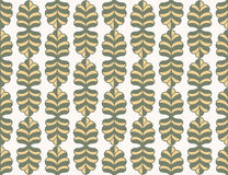 Leaves pattern background illustration design Stock Images
