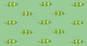 Leaves pattern. Pattern-illustration of green leaves nature vector illustration