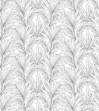 Leaves pattern. Leaf seamless backgound. Royalty Free Stock Image