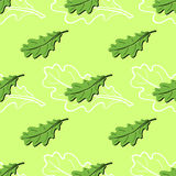 Leaves Pattern Stock Image