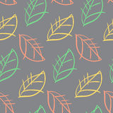 Leaves pattern seamless Stock Photos