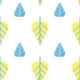 Leaves pattern seamless Royalty Free Stock Photos