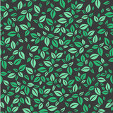 Leaves pattern. Simple leaves pattern. Stock Image