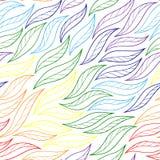 Leaves rainbow fishnet Stock Photo