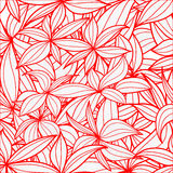 Leaves seamless background Stock Photography