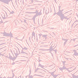 Leaves seamless background. Valentine day backdrop Royalty Free Stock Photos
