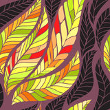 Leaves seamless pattern Stock Photos