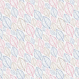 Leaves seamless pattern Stock Photography