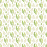 leaves seamless pattern background Stock Photo