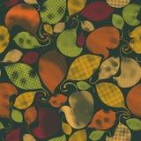 Leaves seamless pattern. Stock Photo
