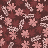 Leaves seamless pattern Royalty Free Stock Images