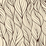 Leaves - seamless pattern Royalty Free Stock Photo