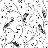 Leaves seamless pattern Stock Image